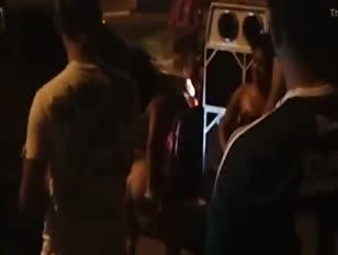 Festa na rua das bagaceira na avenida do turismo
