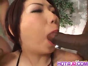 Hatsumi kudo fellates pollas y tiene fuckbox y entrada trasera llena de esperma